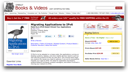 Migrating Applications to IPv6 - O Reilly Media
