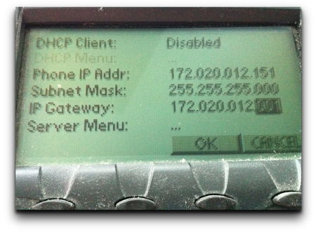 Iphone ipv4