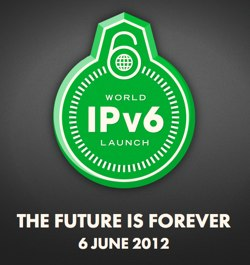 World IPv6 Launch logo